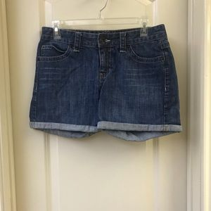 Calvin Klein Cuffed Denim Shorts
